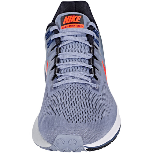 Nike Air Zoom Structure 21 - Chaussures running Homme - gris sur campz.fr !